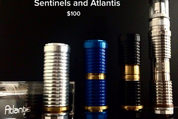 $100 authentic Sentinel mechanical mod + Atlantis tank