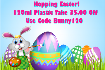 Easter Sunday Only 120mls Only $24.49