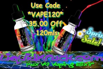 Hot 120ml Special $20.99 Shipped!