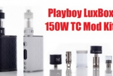 SAVE $20 ON A PLAYBOY LUXBOX 150W TC BOX MOD FULL KIT