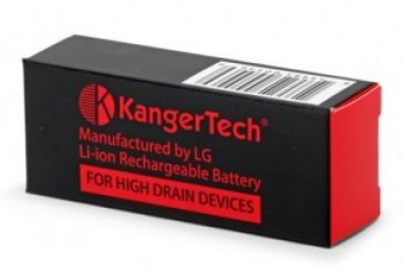 Kanger 18650 Battery – 2500mAh 20amp 3.7 volts *SPECIAL PRICE*